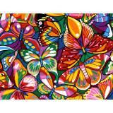 Colored butterflies - 55