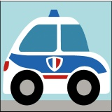 Kit enfant 20/20 police - 55