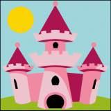 Kit enfant 20/20 château princesse - 55