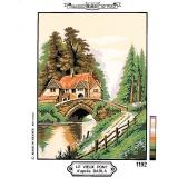 Canevas 30/40 vieux pont - 55