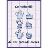 Tableau la vaisselle de nos grands-mères (bleu) - 55