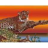 Tableau savane leopard - 55