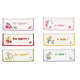 Poche serviette cb bordé - 55