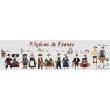 Regions de france - 55