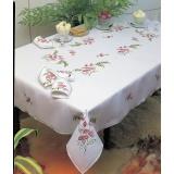 Nappe coton blanc 90/90 - 55