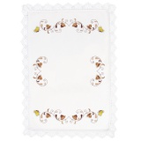 Nappe coton blanc 140/200 - 55