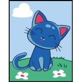 Chat bleu - 55