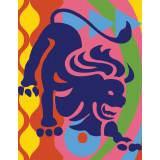 Lion couleur - 55