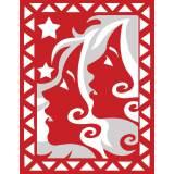 Gémeaux rouge et blanc - 55