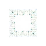 Napperon Brodart coton blanc rond 60 - 55