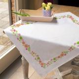 Nappe Brodart coton blanc rect 40/100 - 55