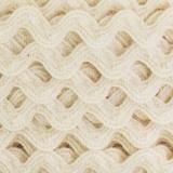 Serpentine coton écru