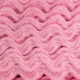 Serpentine coton rose