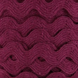 Serpentine coton bordeaux