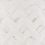 Serpentine coton blanc