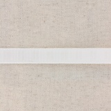 Monte jupe tramé crin 15mm blanc
