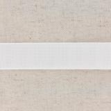 Monte jupe tramé crin 25mm blanc