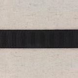 Monte jupe tramé crin 25mm noir