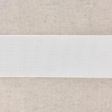 Monte jupe tramé crin 40mm blanc
