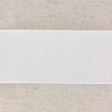 Monte jupe tramé crin 50mm blanc