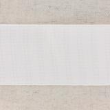Monte jupe tramé crin 60mm blanc