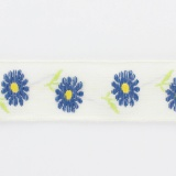 "Galon ""daisy"" 29mm 78%lin"