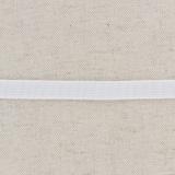 Tissé élastique poly.10mm blanc