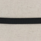 Tissé élastique poly.15mm noir