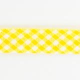 Biais vichy 36/18 jaune