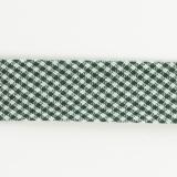 Biais mini vichy 36/18 vert