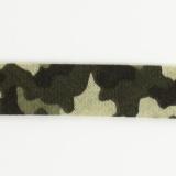 Biais camouflage 36/18 kaki