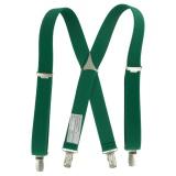 Bretelle enfant unie 25mm 70cm vert - 62