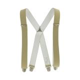 Bretelles hercule pince 3,5 cm/ 110 cm beige - 62