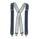 Bretelle fantaisie 35mm 110cm bleu - 62