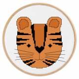 Tableautin petit tigre - 64
