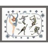 Sports d' hiver 30/40cm - 64