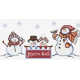 Tableau les bonhommes de neige - 64