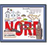 Kit Princesse tableau Nord 40/50 - 64