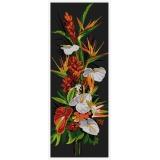 Fleurs exotiques - aida noire 25/60 - 64