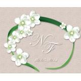 Tableau mariage fleurs blanches - 64