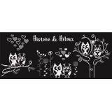 Tableau histoire de hiboux - 64