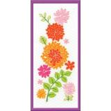 Tableautin 2 frise de fleurs - 64