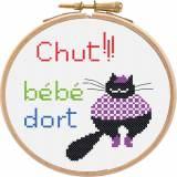 Cadre de porte color cats - 64
