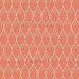 Tissu feuillage beige corail d2 - 64