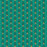Tissu petales turquoise - 64