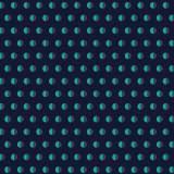Tissu pois bicolore marine - 64