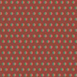 Tissu pois bicolore corail - 64