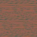 Tissu rayures corail pétrole c1 - 64