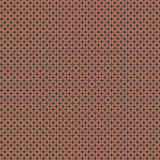 Tissu petite rosace corail pétrole c1 - 64