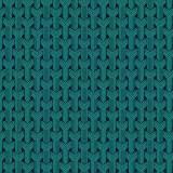 Tissu tresses turquoise nuit b1 - 64